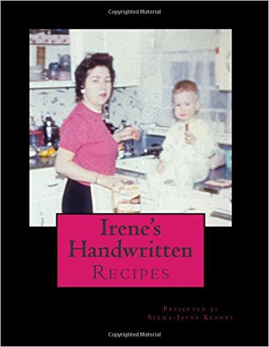 Irene's Recipes Book Cover