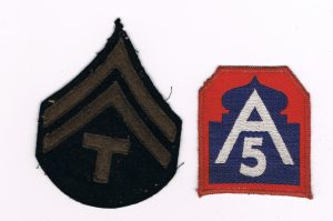 5th Army Patches
